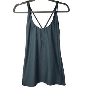 Nike Dri Fit Fitted Double Strap Tank Top M